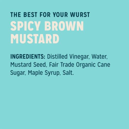 Sir Kensington's Spicy Brown Mustard Perspective: right