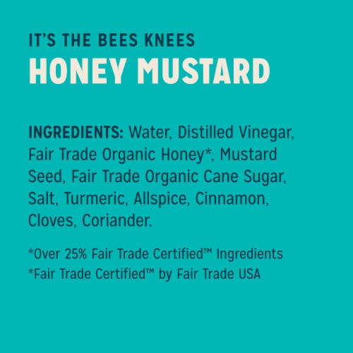 Sir Kensington's Paleo Honey Mustard Gluten-Free Condiment Perspective: right