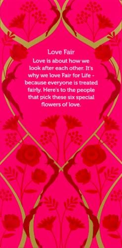 Pukka Love Herbal Tea Sachets Perspective: right