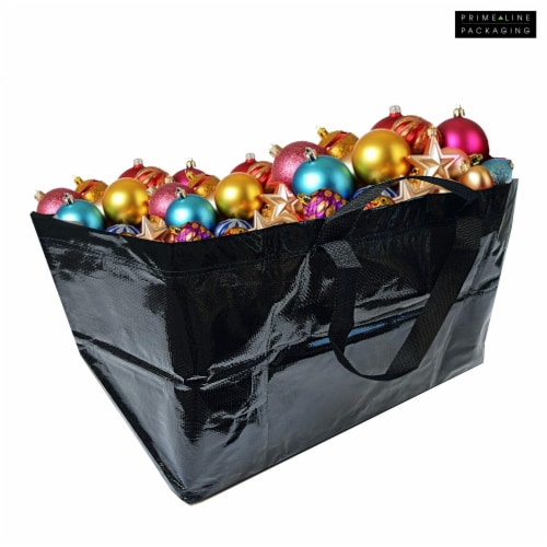 Prime Line Packaging Large Tote Bags for Carrying Bulk Items, Storage Shopping Bags Perspective: right
