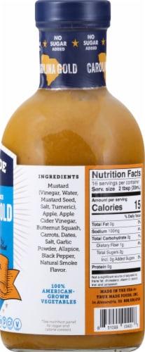 True Made No Sugar Added Carolina Gold BBQ Sauce Perspective: right