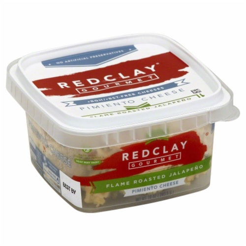 Redclay Gourmet Flame Roasted Jalapeno Pimiento Cheese Perspective: right