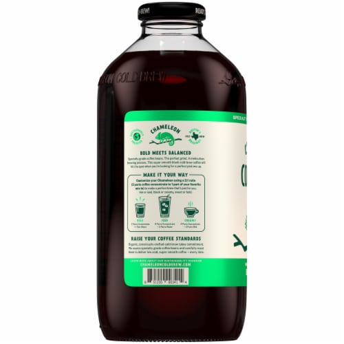 Chameleon Cold-Brew Organic Concentrate Black Coffee Perspective: right