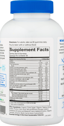 SmartyPants Adult Vitamin Gummies Perspective: right