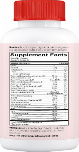 Smarty Pants Kids MultiVitamin Gummy Perspective: right
