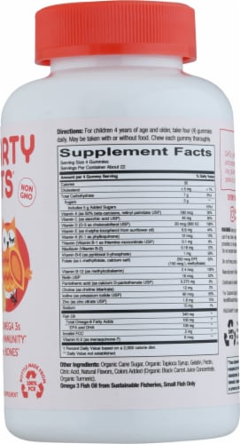 SmartyPants Kids Complete Multivitamin Gummies Perspective: right