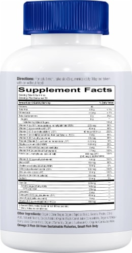 SmartyPants  Men's Mo Complete Multivitamin Perspective: right
