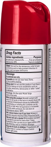 Dermoplast First Aid Antiseptic & Pain Relief Spray Perspective: right