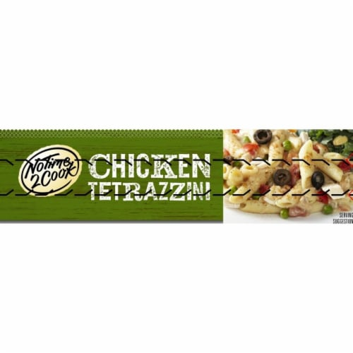 No Time 2 Cook Chicken Tetrazzini Frozen Meal Perspective: right