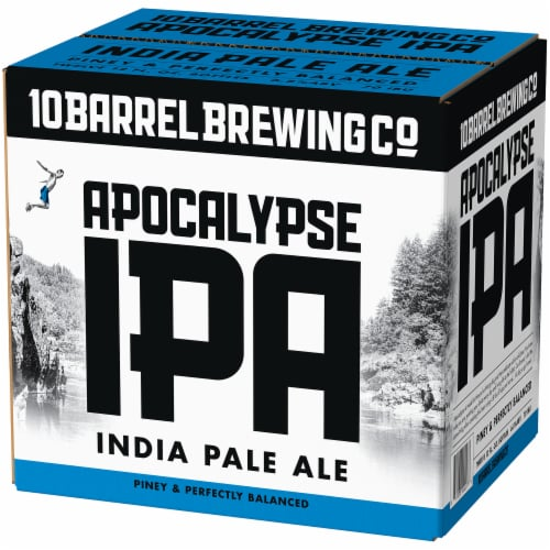 10 Barrel Brewing Co. Apocalypse IPA Perspective: right