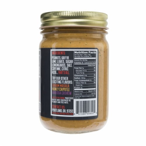 Eliot's Adult Nut Butters Thai Spicy Peanut Butter Perspective: right