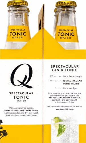 Q Mixers Tonic Water Perspective: right