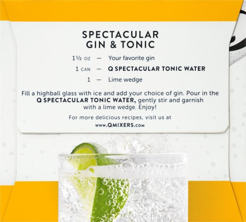 Q Tonic Water Perspective: right