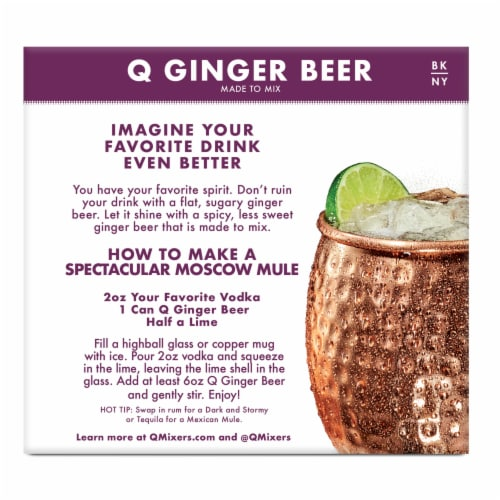 Q Mixers Ginger Beer Perspective: right