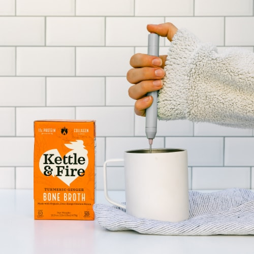 Kettle & Fire Turmeric Ginger Bone Broth Perspective: right