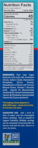 Liquid I.V. Hydration Multiplier Strawberry Electrolyte Drink Mix Perspective: right