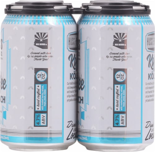 Huss Brewing Co. Koffee Kolsch Perspective: right