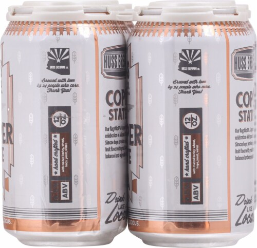 Huss Brewing Co. Copper State IPA Perspective: right