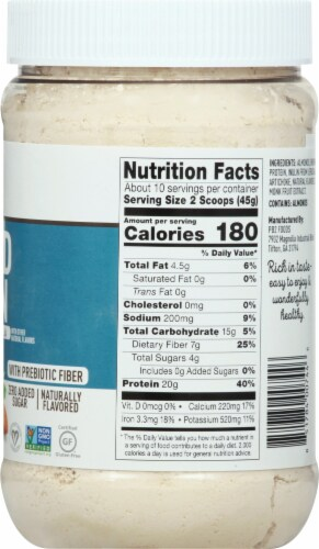 PB2 Performance Almond Protein with Vanilla Powder Perspective: right