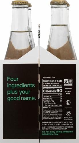 DRY Sparkling Vanilla Bean Soda Perspective: right