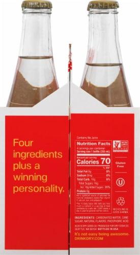 Dry Sparkling Fuji Apple Soda Perspective: right