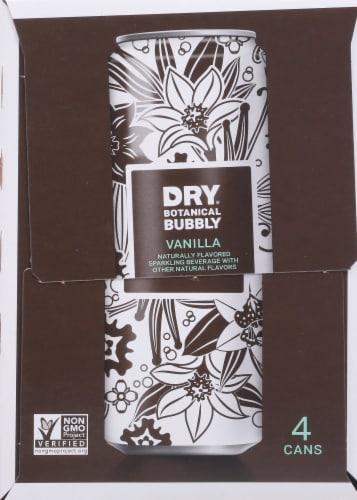 Dry Vanilla Bean Botanical Bubbly Perspective: right