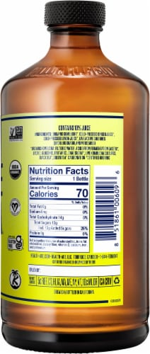 Health Ade Ginger-Lemon Kombucha Perspective: right