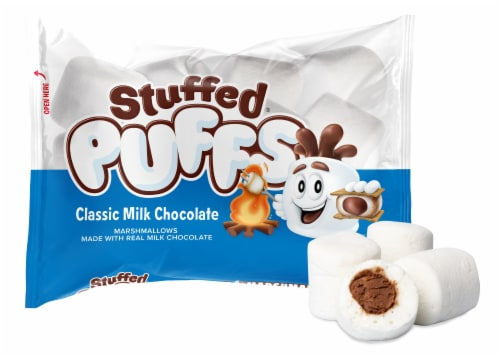 Stuffed Puffs Classic Milk Chocolate Marshmallows Perspective: right