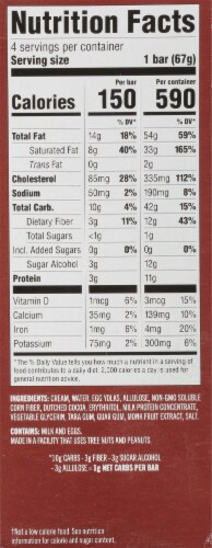 Enlightened® Keto Collection Dark Chocolate Ice Cream Bar Perspective: right
