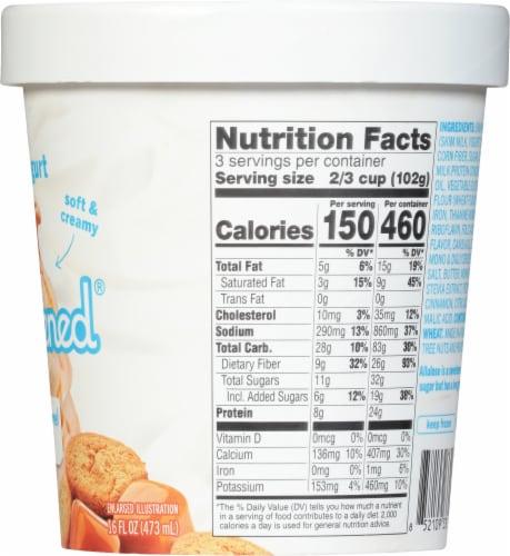 Enlightened Sea Salt Caramel Ice Cream Perspective: right
