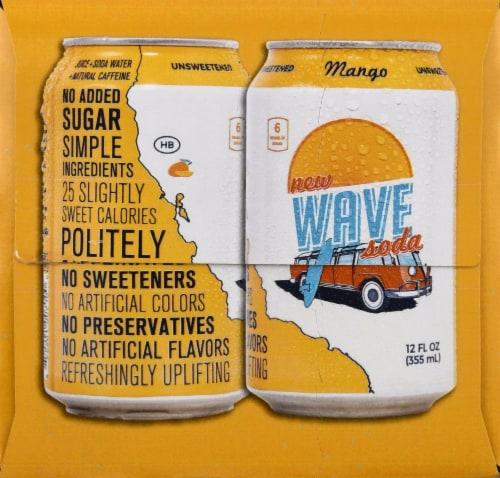 Wave Mango Soda Perspective: right