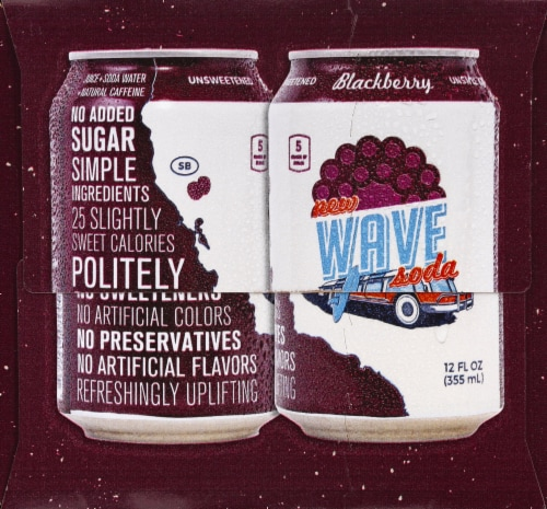 Wave Blackberry Soda Perspective: right