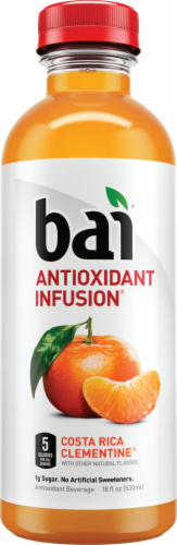 Bai Costa Rica Clementine Antioxidant Infused Beverage 6 x 18 fl oz Perspective: right
