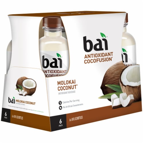 Bai Cocofusion Molokai Coconut Antioxidant Infused Beverage Perspective: right