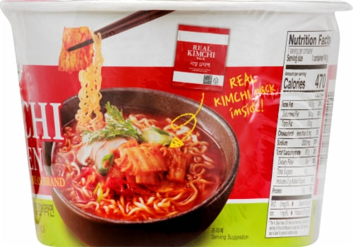 Jongga Kimchi Ramen Perspective: right