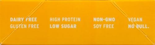 no cow Lemon Meringue Pie Protein Bars Perspective: right