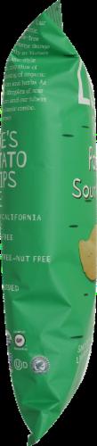 Luke's Organic Sour Cream + Onion Potato Chips Perspective: right