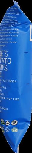 Luke's Organic Wavy Potato Chips Perspective: right