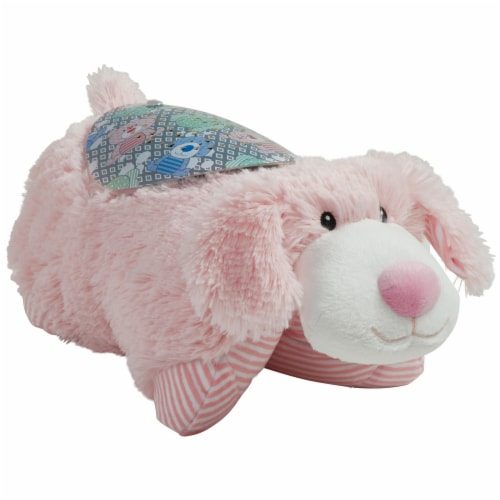 Pillow Pets My First Puppy Sleeptime Lite Plush Toy - Pink Perspective: right