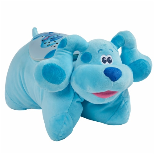 Pillow Pets Nickelodeon Blue's Clues Blue Sleeptime Lite Plush Toy Perspective: right