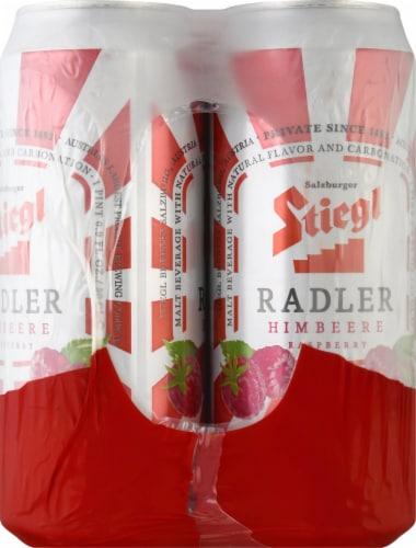 Stiegl Raspberry Radler Beer Perspective: right