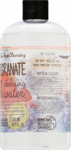 Urban Hydration Kiwi & Pomegranate Micellar Cleansing Water Perspective: right