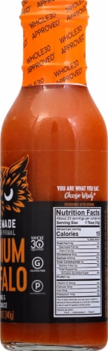 The New Primal Medium Noble Made Buffalo Dipping & Wing Sauce Perspective: right