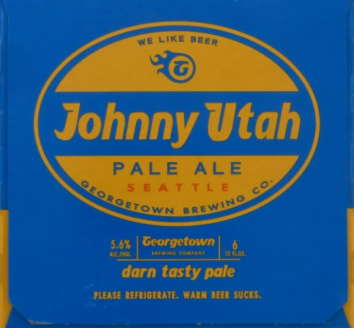 Georgetown Brewing Johnny Utah Pale Ale Perspective: right