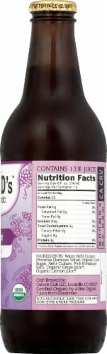 Doctor D's Concord Grape Kefir Water Perspective: right