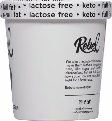 Rebel Cookies & Cream Ice Cream Perspective: right