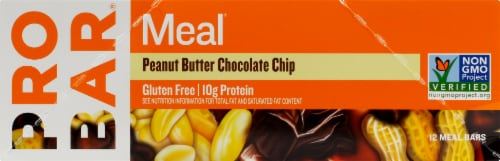 ProBar Meal Peanut Butter Chocolate Chip Bars Perspective: right