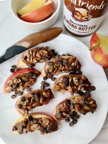 Wild Friends Foods Chocolate Almond Butter Perspective: right