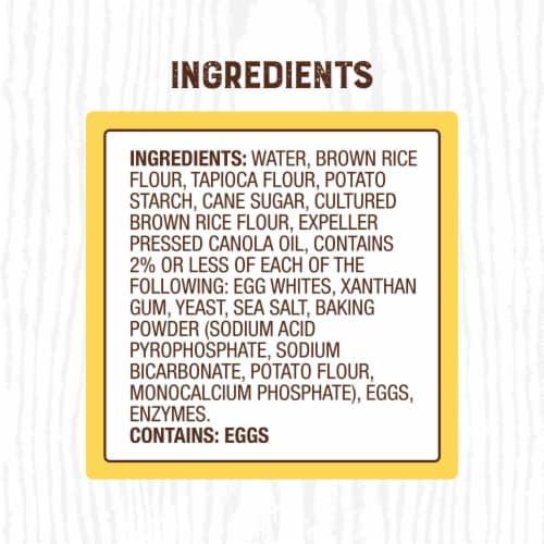 Canyon Bakehouse® Gluten Free Whole Grain Burger Buns Perspective: right