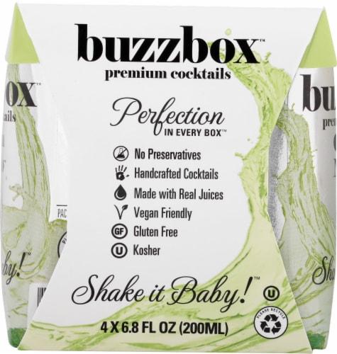 buzzboz Premium Cocktails Cuban Mojito Cocktail Perspective: right